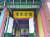 위안스카이가 한국에 남긴 두 개의 글씨와 당시 모습 중 중화민국 대총통 취임 때 쓴 '愴懷袍澤(창회포택·생사를 같이한 전우를 슬퍼하다)' 휘호. 서울 연희동 한성화교중학 교내 오장경 사당에 걸려 있다.