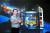 박병곤 천문연구원 대형망원경 사업단장이 칠레 안데스산맥 라스 캄파나스에 설치될 거대마젤란망원경 이미지 앞에 섰다. 김성태 객원기자