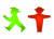 동독 신호등에 사용했던 사람 모양의 암펠맨헨 캐릭터를 이용한 상품들이 지금도 인기리에 판매되고 있다.