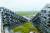 8자 모양으로 아파트·사무실·상가를 배치한 덴마크 코펜하겐의 '8하우스(8 Tallet)'. [연합뉴스]