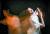 파리오페라 발레단 수석무용수 '에투알'에 등극한 박세은이 보여주는 발레 동작을 장노출 기법으로 촬영했다. 김현동 기자