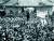 1925년 3월 19일, 국부 쑨원의 출상(出喪)을 배웅하기 위해 협화병원 문전에 운집한 학생들. [사진 김명호]