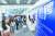 지난 4월 24일 중국 기술허브인 선전에서 열린 해외 귀국자들을 위한 일자리박람회. [신화=연합뉴스]