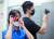 지난 10일 경찰관과 인천교통공사 직원이 인천지하철에서 '몰카'를 단속하고 있다. [연합뉴스]