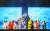 국립창극단 신작 '흥보전'은 설치미술가 최정화가 시노그래퍼로 참여해 화려한 미디어아트 열전을 선보인다. [사진 국립극장]