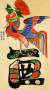 문자도(19세기·부분), 8폭 병풍, 종이에 채색, 각 62x32.5㎝. [사진 현대화랑]