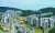 대장동 개발 특혜 의혹 논란이 커지고 있는 가운데 24일 경기 성남시 판교대장 도시개발사업 현장에서 건설 작업이 진행되고 있다. [연합뉴스]