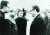 스튜어트가 중국을 떠난 후 키신저가 극비리에 베이징을 방문하기까지 22년이 걸렸다. 1971년 7월 9일, 전인대 위원장 예젠잉(葉劍英.왼쪽 둘째)과 함께 키신저를 맞이하는 황화(왼쪽 셋째). [사진 김명호]