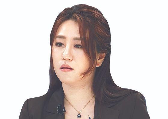 조성은 마세라티 리스한 대표, 박지원 대표시절 대변인